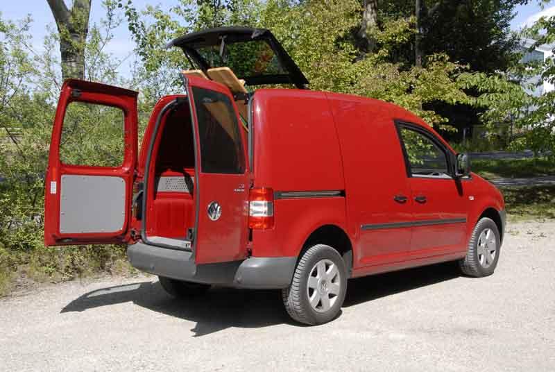allrad magazin fahrbericht vw caddy 1 9 tdi 4motion kastenwagen seite 3. Black Bedroom Furniture Sets. Home Design Ideas
